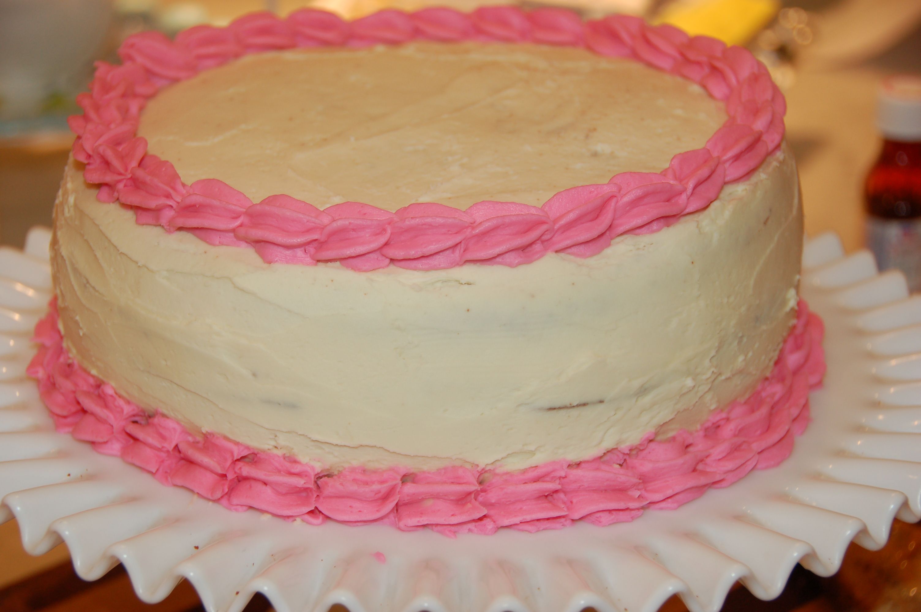 Classic Chocolate Birthday Cake with Vanilla Buttercream